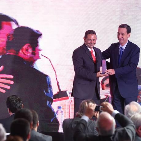 Cerimônia do Prêmio Innovare ano passado Foto: Ailton de Freitas / Arquivo O Globo
