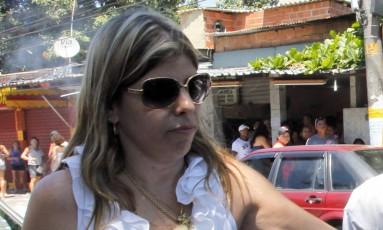 A juíza Daniela Assumpção: ela foi atacada por presos enquanto inspecionava o BEP Foto: Roberto Moreyra / Agência O Globo (07/10/2012)