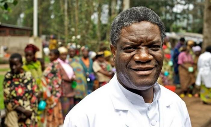 Referência na saúde da República Democrática do Congo, Denis Mukwege finalmente é indicado Foto: AP