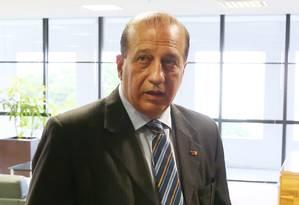 O ministro do TCU Augusto Nardes é suspeito de ter recebido R$ 1,65 milhão de empresa investigada na Operação Zelotes Foto: Jorge William / Agência O Globo
