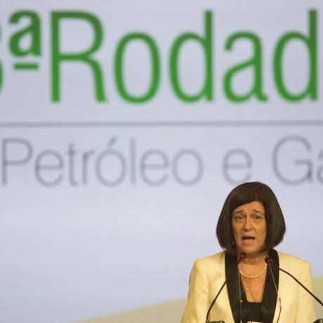Magda Chambriard Foto: O Globo / Antonio Scorza