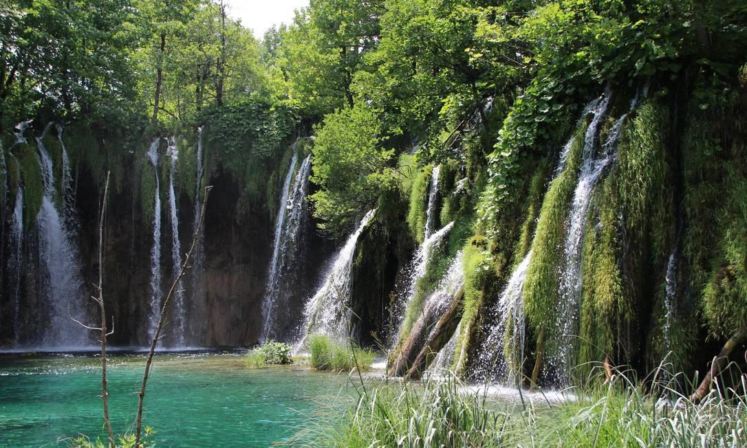 O parque, considerado Patrimônio da Humanidade pela Unesco, é uma das atrações naturais mais importantes da Europa Foto: Eduardo Maia / .