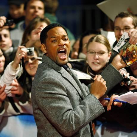 O ator Will Smith volta à cena musical Foto: Axel Schmidt