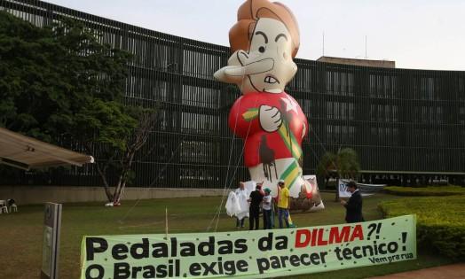 O plenário do Tribunal de Contas da União (TCU) rejeitou, por unanimidade, as contas de 2014 do governo Dilma. Foto: Jorge William / Agência O Globo