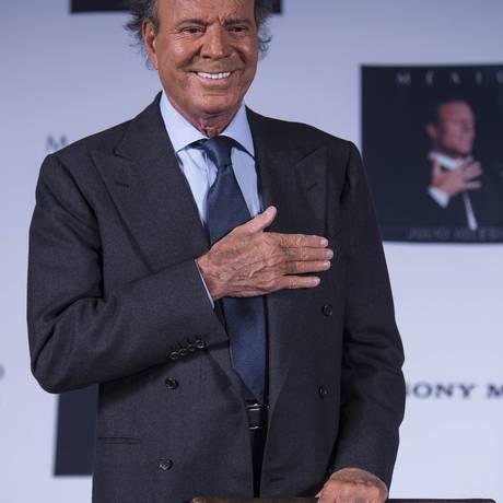 O cantor Julio Iglesias Foto: Christian Palma / AP