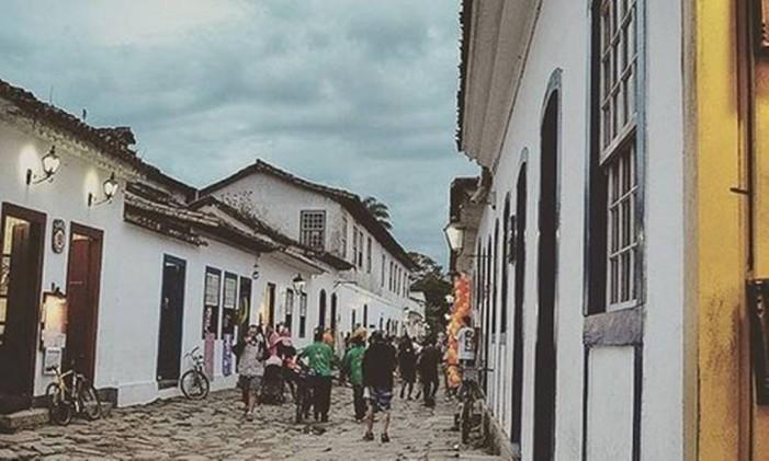 Paraty, Rio de Janeiro Foto: @pam_nogueira / Instagram