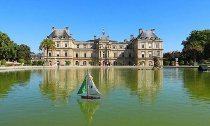 Jardim de Luxemburgo, em Paris, França Foto: @joselilmb / Instagram