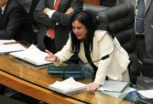 A senadora Rose de Freitas Foto: Ailton de Freitas / 19-12-2012 / Agência O Globo