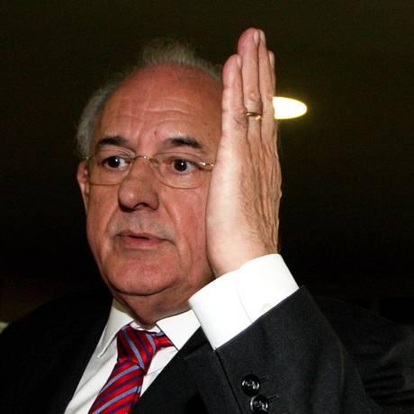 O ex-ministro da Defesa Nelson Jobim Foto: Aílton de Freitas / Agência O Globo / Arquivo 20/03/2012