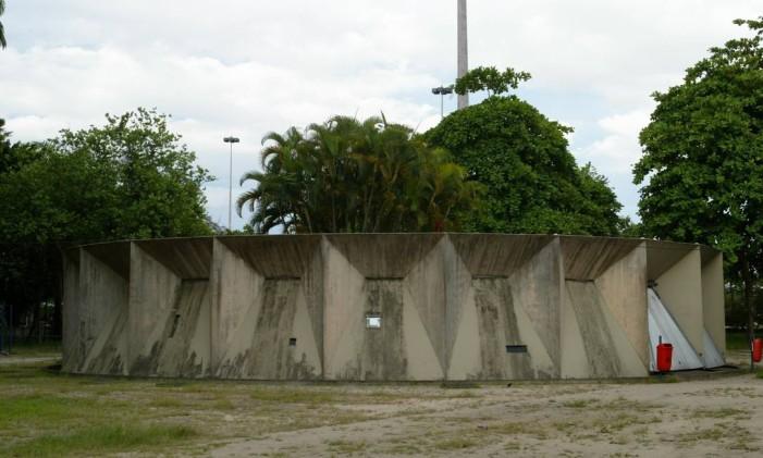 Prédio do Museu Carmen Miranda: estrutura ganhará nova destinação Foto: Berg Silva/08-01/2008 / O Globo