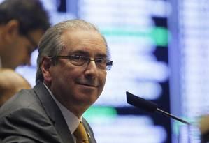O presidente da Câmara Eduardo Cunha Foto: Ailton de Freitas/07-10-2015 / Agência O Globo