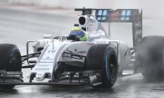 Felipe Massa foi o mais rápido nos treinos em Sochi Foto: ALEXANDER NEMENOV / AFP