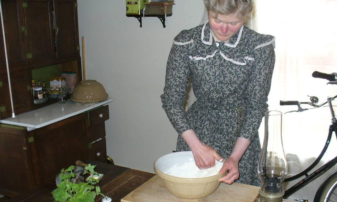 Pão é feito artesanalmente Divulgação