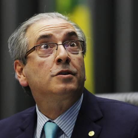 O presidente da Câmara dos Deputados Eduardo Cunha Foto: Ailton de Freitas/01-10-2015 / Agência O Globo