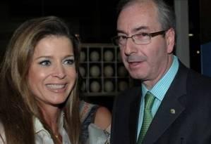 Eduardo Cunha e a mulher, Cláudia Cruz. Foto: Divulgação/09-10-2015 / Arquivo