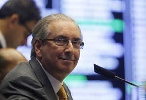 O presidente da Câmara Eduardo Cunha Foto: Ailton de Freitas / Agência O Globo