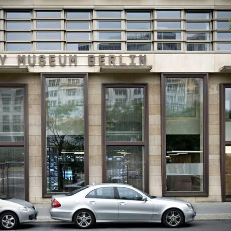 A área onde hoje está o Museu da Espionagem era cortada pelo Muro de Berlim Foto: Museu da espionagem
