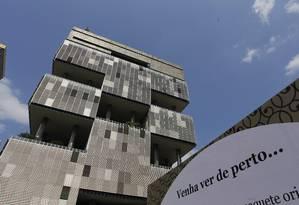 O prédio da Petrobrás na Avenida Chile, no Rio Foto: Marcelo Carnaval / 27-08-2015 / Agência O Globo