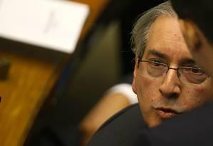 O presidente da Câmara Eduardo Cunha Foto: Jorge William / 08-10-2015 / Agência O Globo