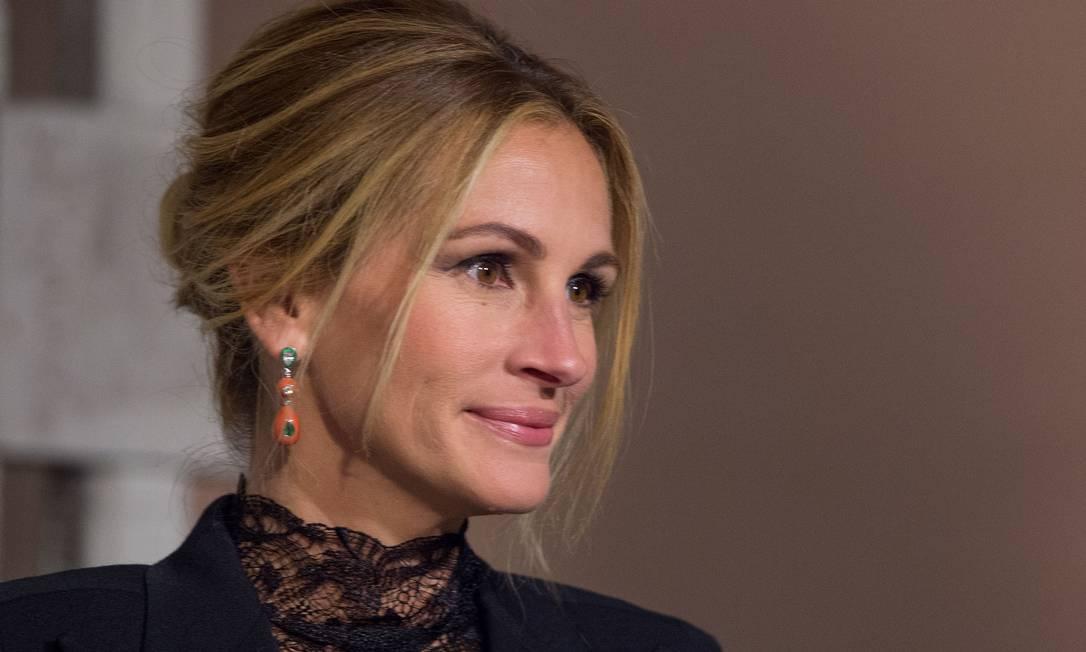 A beleza de Julia Roberts VALERIE MACON / AFP
