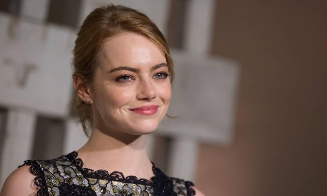 A beleza de Emma Stone VALERIE MACON / AFP