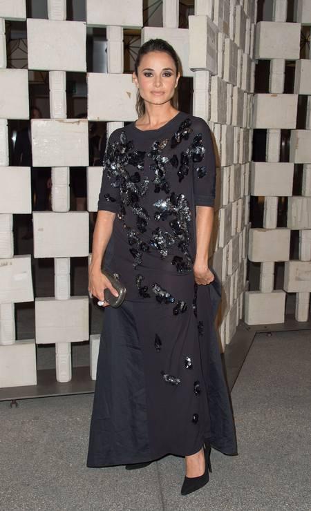 A atriz Mia Maestro Foto: VALERIE MACON / AFP