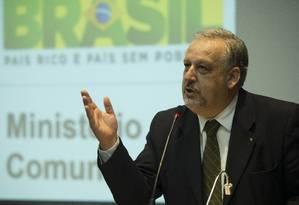 Negociações. Berzoini, da Secretaria de Governo, tem a missão de mobilizar líderes da base distribuindo nomeações Foto: Terceiro / Marcelo Camargo/Agência Brasil/02-01-2015