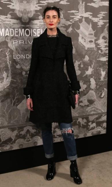A supermodel Erin O'Connor Joel Ryan / Joel Ryan/Invision/AP