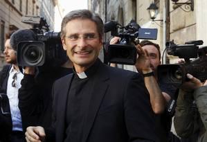 Krzystof Charamsa pede que a Igreja altere sua posição sobre homossexualidade Foto: Reuters
