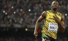 Bolt é o favorito dos atletas brasileiros Foto: Olivier Morin / AFP