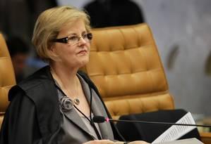 A Ministra Rosa Maria Weber Foto: Ailton de Freitas / 04-10-2012 / Agência O Globo