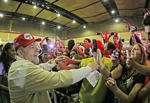 Lula no Congresso do Movimento dos Pequenos Agricultores Foto: Ricardo Stuckert/Insituto Lula