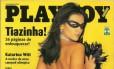 A edição que trouxe a Tiazinha na capa é um dos recordes brasileiros de vendas Foto: Divulgação