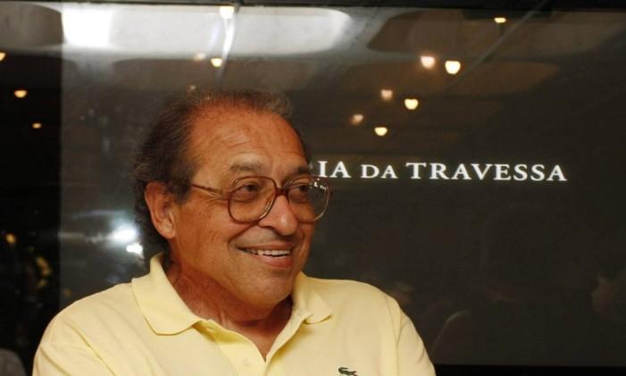 Ruy castro Foto: Marcos Ramos / Agência O Globo