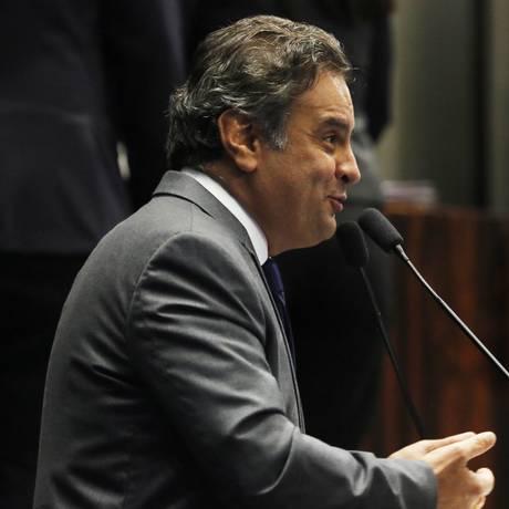 Aécio Neves Foto: Ailton de Freitas/29-09-2015 / Agência O Globo