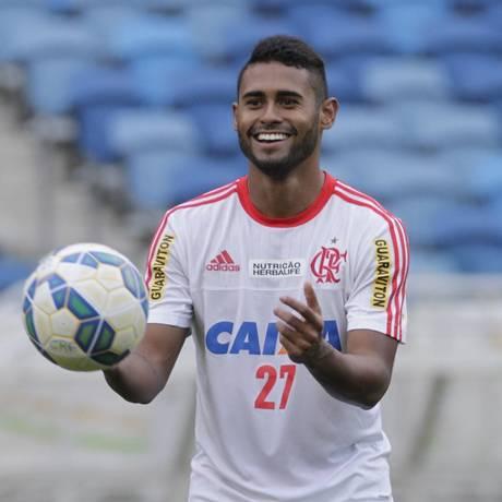 O atacante Kayke em foto de arquivo Foto: Divulgação/Flamengo