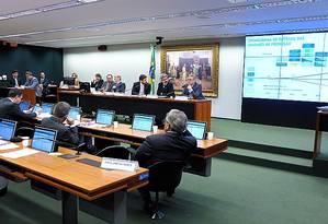 Sessão da CPI da Petrobras Foto: Agência Câmara