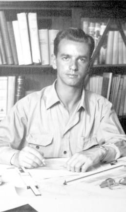 Itamar formou-se em Engenharia Civil em Juiz de Fora (MG) , em 1954 Foto: Acervo Memorial Itamar Franco / Divulgação