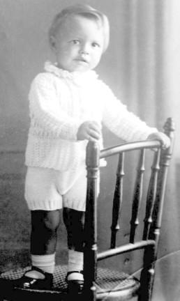Itamar Franco, aos 2 anos de idade. O presidente nasceu em 28 de junho de 1930 Foto: Acervo Memorial Itamar Franco / .