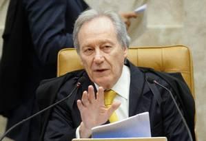 O presidente do Supremo Tribunal Federal (STF) Ricardo Lewandowski Foto: Andre Coelho/13-08-2015 / Agência O Globo
