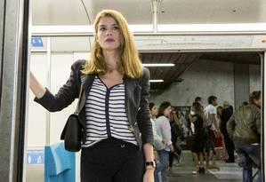 Alinne Moraes em cena da segunda fase da novela Foto: Felipe Monteiro / TV Globo