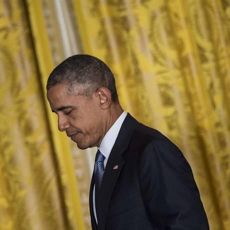 Obama tem sido questionado por gestão de crises no Oriente Médio Foto: BRENDAN SMIALOWSKI / AFP
