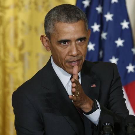 Obama criticou atitude recente do Irã e apontou que Coreia do Norte deveria seguir desnuclearização Foto: KEVIN LAMARQUE / REUTERS