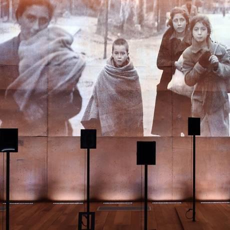 Inagurado na sexta-feira, Memorial-Museu de Rivesaltes vai expor arquivos da história do campo Foto: AFP