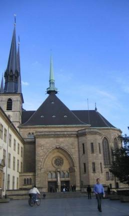 Catedral de Notre-Dame, em Luxemburgo Foto: Vivian Oswald