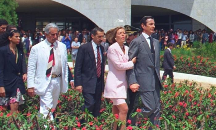 Fernando Collor é afastado da Presidência da República Foto: Sergio Marques - 02.10.1992