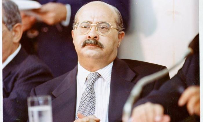 Paulo César Farias, tesoureiro da campanha de Collor em 1989 Foto: Sérgio Marques / O Globo - 01.03.1994