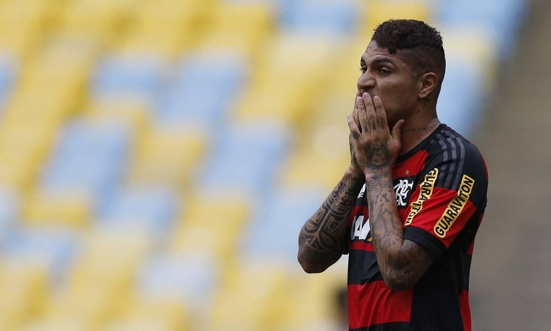 Guerrero passou mais uma vez em branco Alexandre Cassiano / Agência O Globo