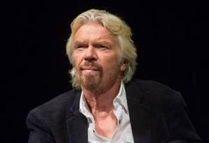 O empresário Richard Branson Foto: Reprodução/Site da Virgin