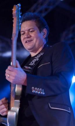 Show de gravação da Banda Calypso em Ceilândia, Distrito Federal Foto: Caio Paifer / Divulgação